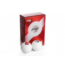 DHS DJ40+ 3***  ITTF 6 Balls (seam)