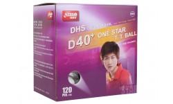 DHS D40+ 1* 120 Balls (seam)